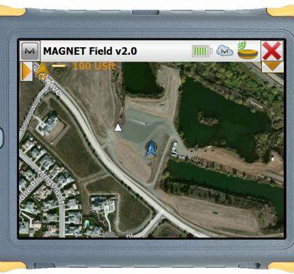 Topcon Totalcare Magnet Field